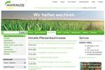 Agravis Webseite